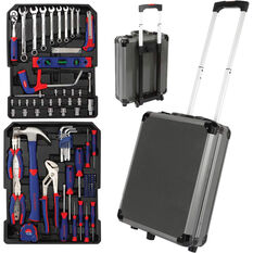 WORKPRO Tool Kit - 111 Piece, With Trolley, , scanz_hi-res