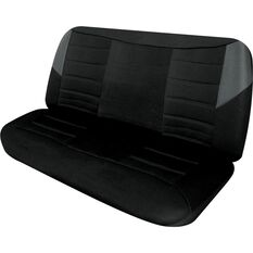 Seat Covers - Black & Grey, Size 12, Front Bench, , scanz_hi-res