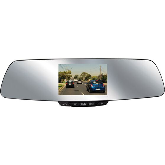 """Nanocam+ NCP-MIRDVRHD2 4.3"""" Mirror Mounted Front and Rear Dash Camera Kit, , scanz_hi-res"""