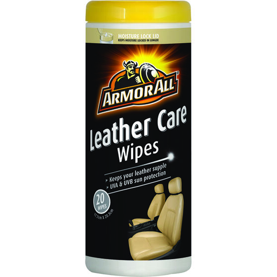 Armor All Leather Wipes - 20 Pack, , scanz_hi-res