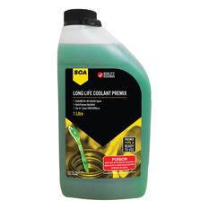 SCA Long Life Green Coolant Premix 1 Litre, , scanz_hi-res