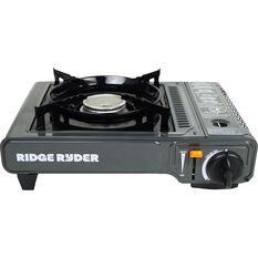 Ridge Ryder Butane Stove - Single Burner, Dual Safety Cut Off, , scanz_hi-res
