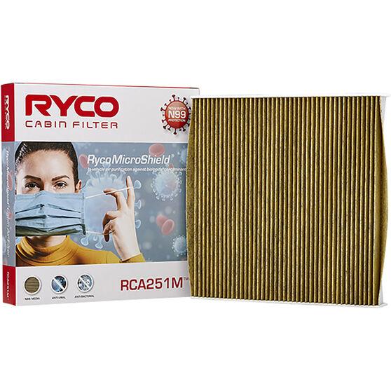 Ryco Cabin Air Filter N99 MicroShield RCA251M, , scanz_hi-res
