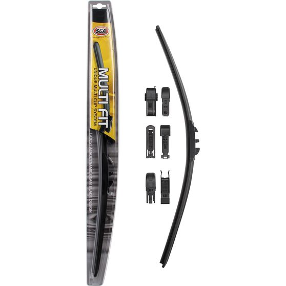 SCA Multi-Fit Wiper Blade, 21 inch, Single, , scanz_hi-res