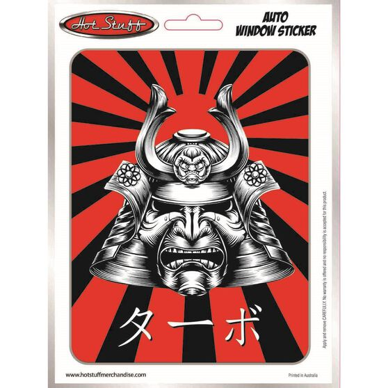 Sticker JDM Samurai Mask SH2037, , scanz_hi-res