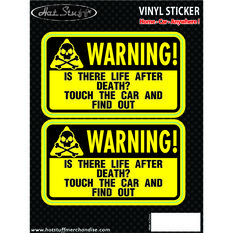 Hot Stuff Sticker - Life After Death, Vinyl, , scanz_hi-res