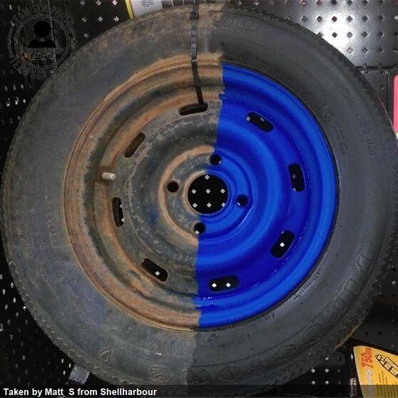 Dupli-Color Aerosol Paint Custom Wrap Matte Patriot Blue 396g, , scanz_hi-res