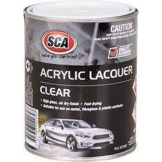 SCA Acrylic Paint - Clear , 1 Litre, , scanz_hi-res