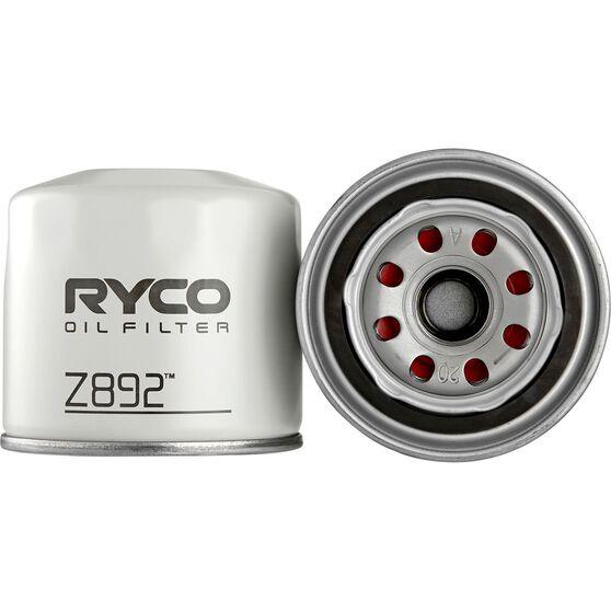 Ryco Oil Filter - Z892, , scanz_hi-res