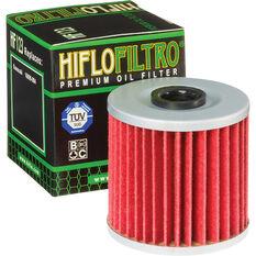HifloFiltro Motorcycle Oil Filter HF123, , scanz_hi-res