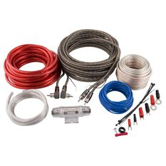 Amplifier Wiring Kit - 2 Channel, 8 Gauge, , scanz_hi-res