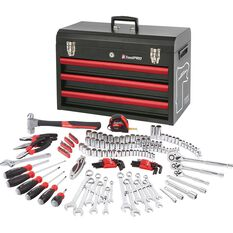 ToolPro Tool Kit - Bathurst, 3 Drawer Chest, 174 Piece, , scanz_hi-res