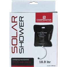 Campmaster Solar Shower - 18.9 Litre, , scanz_hi-res