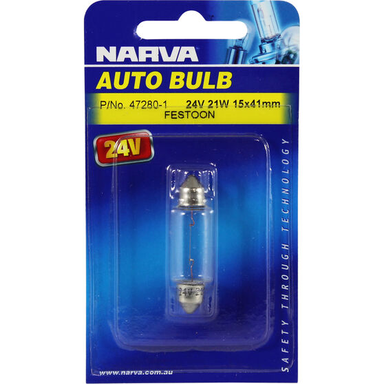 Narva Bulb - 24V, 21W, 15x41mm, , scanz_hi-res