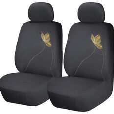 SCA Butterfly Seat Covers - Yellow/Black, adjustable Headrests, Size 30, Airbag Compatible, , scanz_hi-res