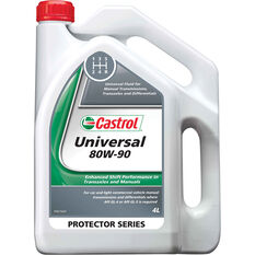 Castrol Universal 80W-90 Manual Transmission Fluid 4 Litre, , scanz_hi-res
