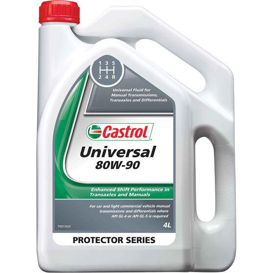 Castrol Universal 80W-90 Manual Transmission Fluid 4 Litre, , scanz_hi-res