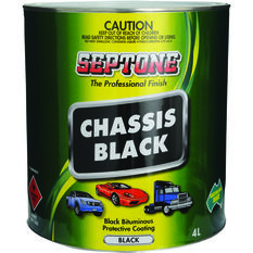 Septone Chassis Paint - Black, 4 Litre, , scanz_hi-res