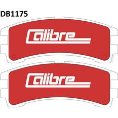 Calibre Disc Brake Pads - DB1175CAL, , scanz_hi-res