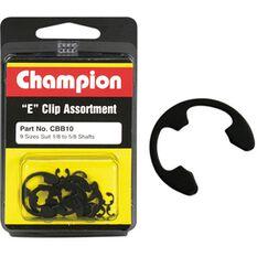 Champion E Clip Assortment - 1 / 8-5 / 8, CBB10, , scanz_hi-res