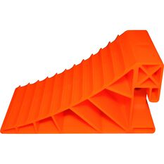 Explore Caravan Wheel Chock - Orange, Pair, , scanz_hi-res