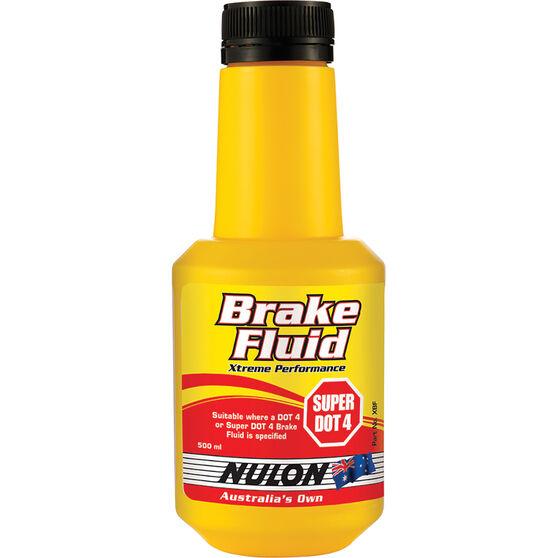 Nulon Xtreme Performance Brake Fluid Super DOT 4 500mL, , scanz_hi-res