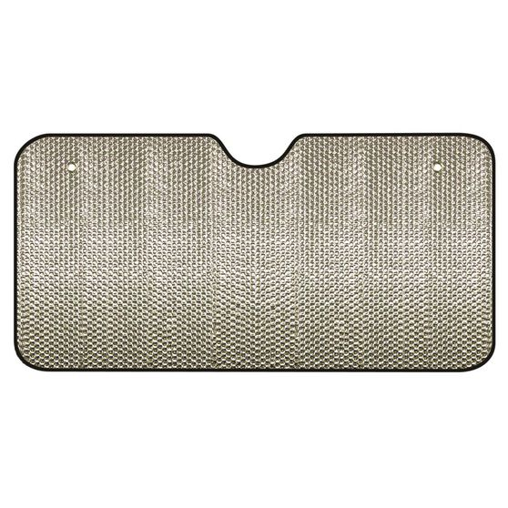 Bubble Sunshade - Silver, Accordion, Front, , scanz_hi-res