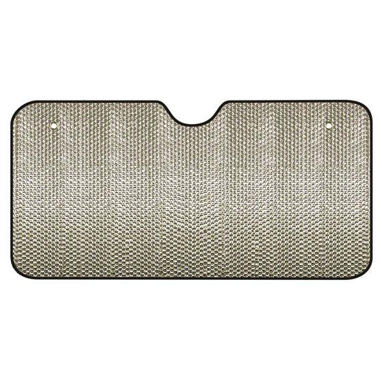 SCA Bubble Sunshade - Silver, Accordion, Front, , scanz_hi-res