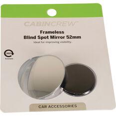 Cabin Crew Blind Spot Mirror - Aluminium , 52mm, , scanz_hi-res