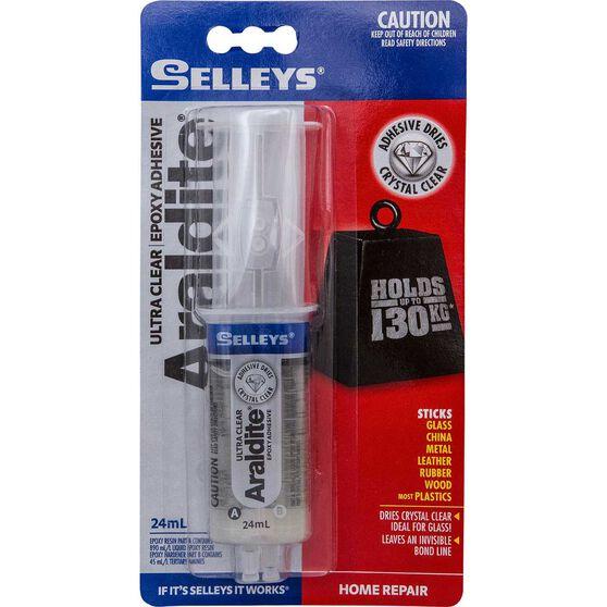 Selleys Araldite - Ultra Clear, 24mL, , scanz_hi-res