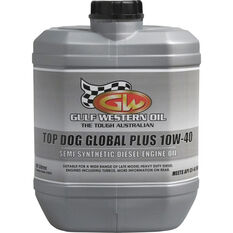 Gulf Western Top Dog Global Plus Engine Oil, 10W-40 -10 Litre, , scanz_hi-res