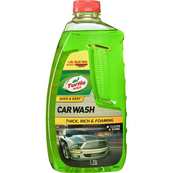 Turtle Wax Car Wash Exclusive - 1.25 Litre, , scanz_hi-res