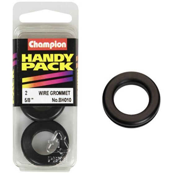 Champion Wiring Grommet - 5 / 8inch, BH010, Handy Pack, , scanz_hi-res