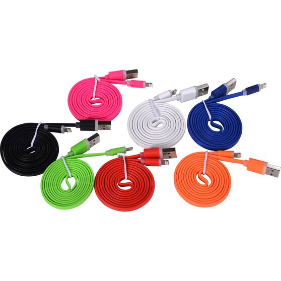 SCA Lightning To USB Cable - Multicolour, , scanz_hi-res