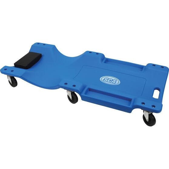SCA Plastic Garage Creeper - Blue, , scanz_hi-res