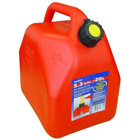 Jerry Can - Petrol, 20 Litre, , scanz_hi-res