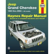 Haynes Car Manual For Jeep Grand Cherokee 1993-2004 - 50025, , scanz_hi-res