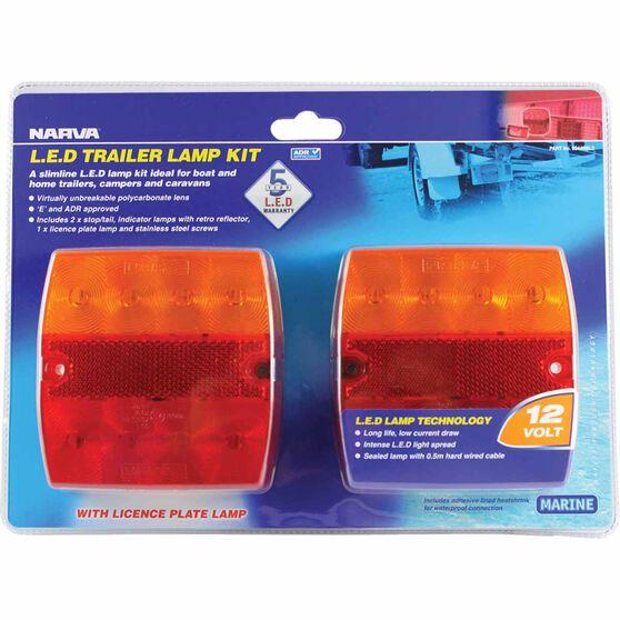 Narva Trailer Lamp - Kit, LED, 12V, , scanz_hi-res