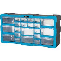 22 Drawer Organiser - Blue, , scanz_hi-res