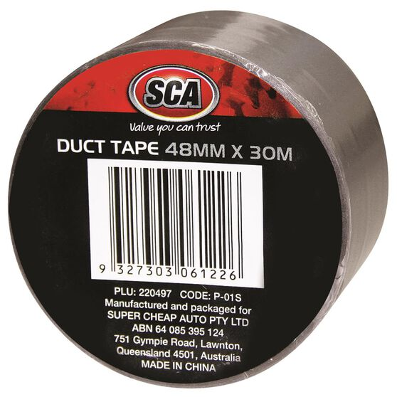 Duct Tape - Silver, 48mm x 30m, , scanz_hi-res