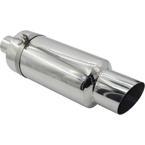 Street Series Stainless Steel Exhaust Cannon - Suits 57mm, , scanz_hi-res