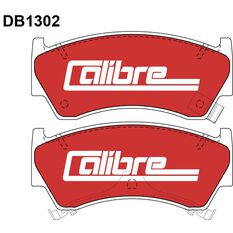 Calibre Disc Brake Pads DB1302CAL, , scanz_hi-res