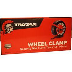 Trailer Wheel Clamp Defender - Suits 165-195mm Tyres, , scanz_hi-res