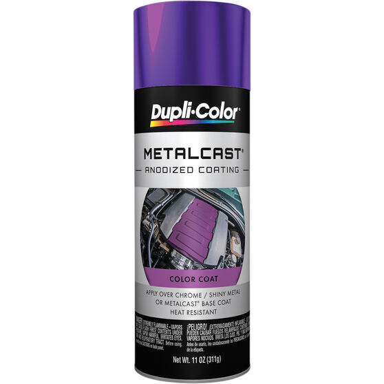 Dupli-Color Metalcast Aerosol Paint - Enamel, Purple Anodised, 311g, , scanz_hi-res