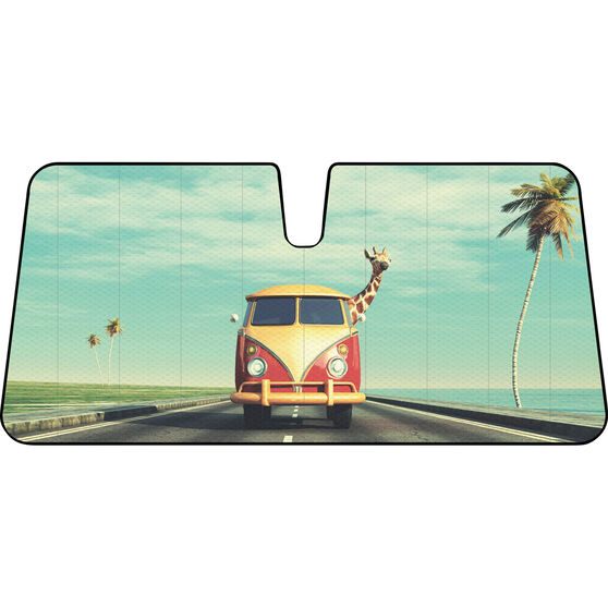 Giraffe Combi Sunshade - Fashion, Accordion, Front, , scanz_hi-res