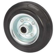SCA Wheel Metal Rim - 125 x 35mm, Rubber, , scanz_hi-res