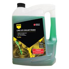 SCA Long Life Green Coolant Premix 5 Litre, , scanz_hi-res