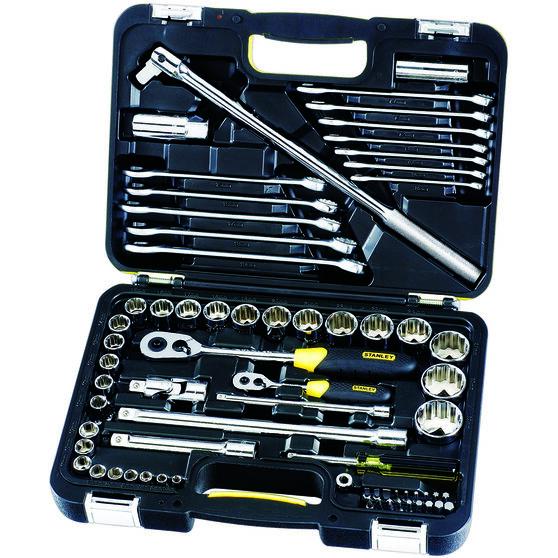 Tool Kit - 1/4/1/2, Metric, 68 Piece, , scanz_hi-res