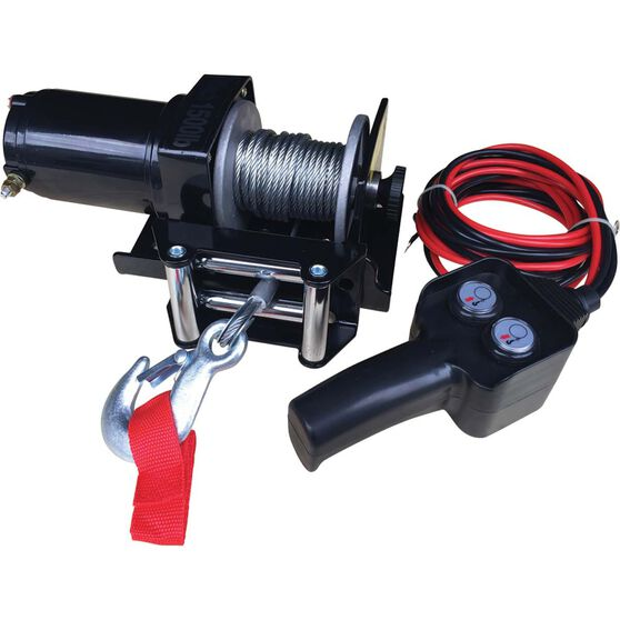 Electric Winch - 1500lb, 12 Volt, , scanz_hi-res