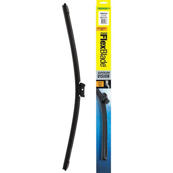 Tridon FlexBlade Single Wiper 24 Inch Top Lock Narrow, , scanz_hi-res